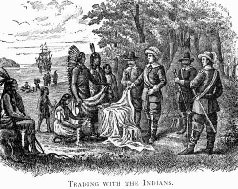 relationship between colonists and indians in the chesapeake King philip's war: king philip's war  by september the colonists and their indian allies had destroyed much of the native american opposition in southern new.
